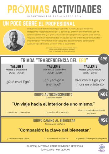 Actividades Pablo Marco